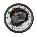 Musky Hunter Large Wall Clock