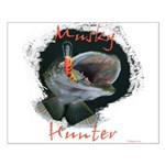 Musky Hunter Small Poster