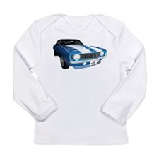 Z28/SS Camaro Long Sleeve Infant T-Shirt