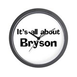 It's all about Bryson Wall Clock