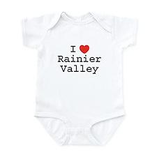 I Heart Rainier Valley Infant Bodysuit