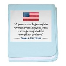 Thomas Jefferson: Government baby blanket