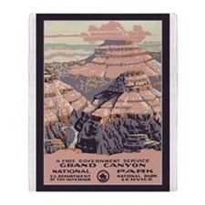 Grand Canyon NP Throw Blanket