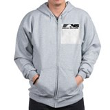 18 Wheels Don't Impress Us Zip Hoodie