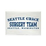 Surgery Team - Seattle Grace Rectangle Magnet