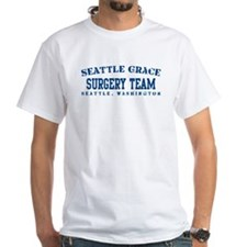 Surgery Team - Seattle Grace White T-Shirt