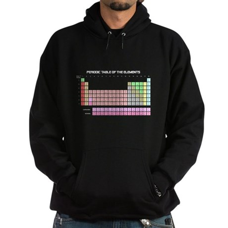 Periodic Table Dark Hoodie