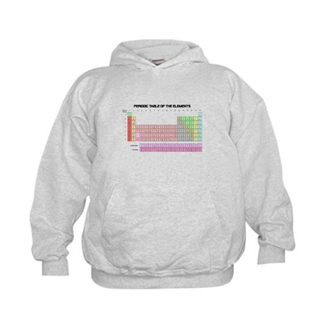 Periodic Table Kids Hoodie