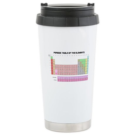 Periodic Table Ceramic Travel Mug