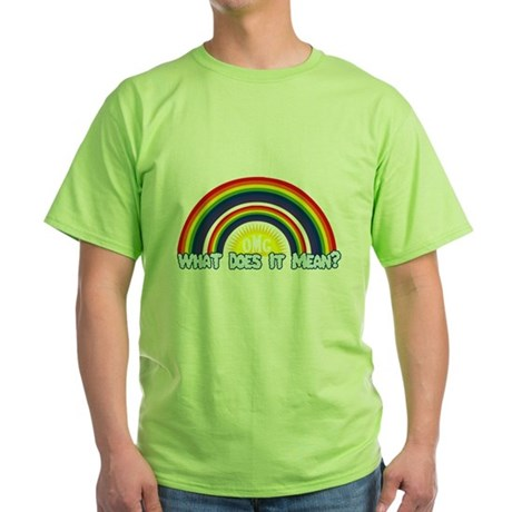 Double Rainbow Green T-Shirt