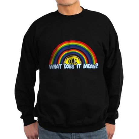 Double Rainbow Dark Sweatshirt