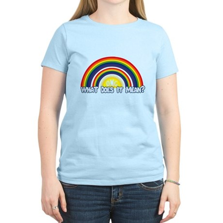 Double Rainbow Womens Light T-Shirt