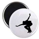 Skateboarding 2.25&quot; Magnet (10 pack)
