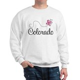 Cute Colorado Butterfly  Sweatshirt