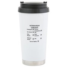 Veterinarian Checklist Travel Mug