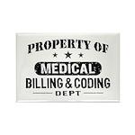 Medical Billing and Coding Rectangle Magnet