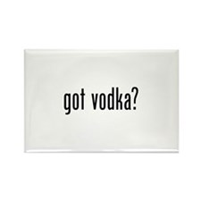Got Vodka Rectangle Magnet (10 pack)