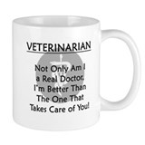Veterinarian A Real Doctor Mug