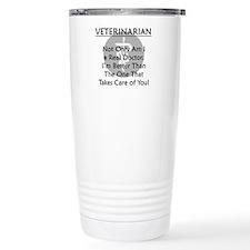 Veterinarian A Real Doctor Travel Mug