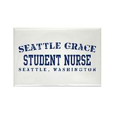 Student Nurse - Seattle Grace Rectangle Magnet