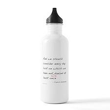 Nietzsche on Swing Dance Water Bottle