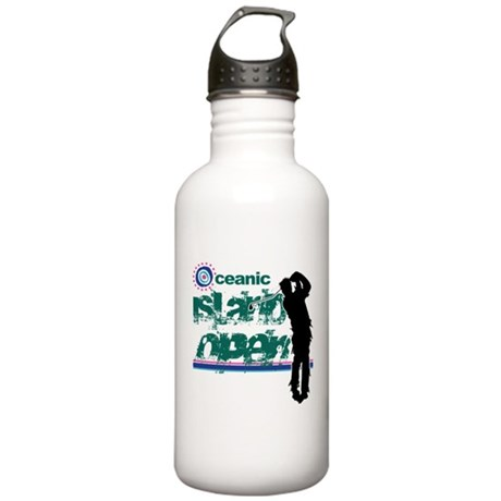 Oceanic Island Open Stainless Water Bottle 1L