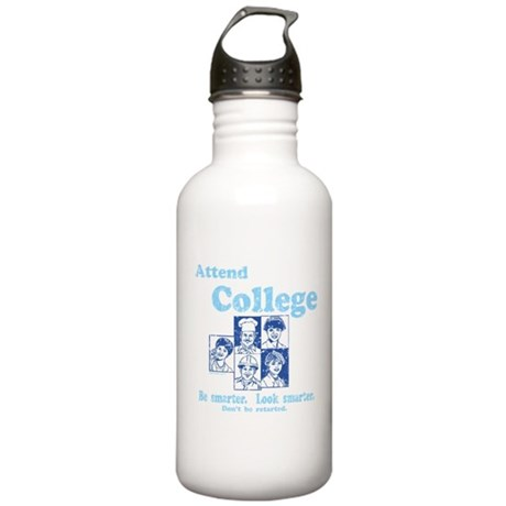 Attend College Stainless Water Bottle 1L