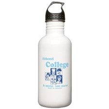 Attend College Water Bottle
