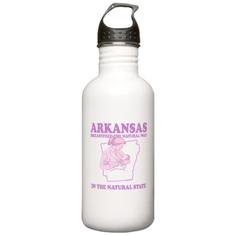 Arkansas Stainless Water Bottle 1L