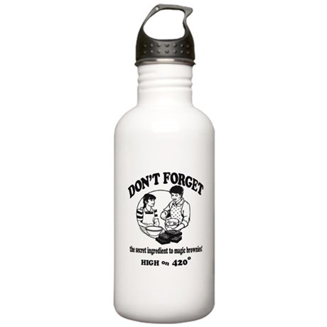 Secret Ingredient Stainless Water Bottle 1L