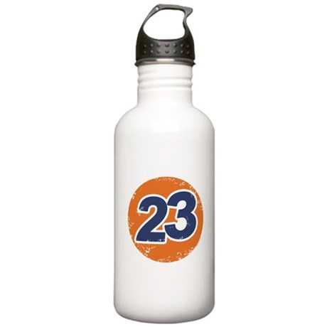 23 Logo Stainless Water Bottle 1L