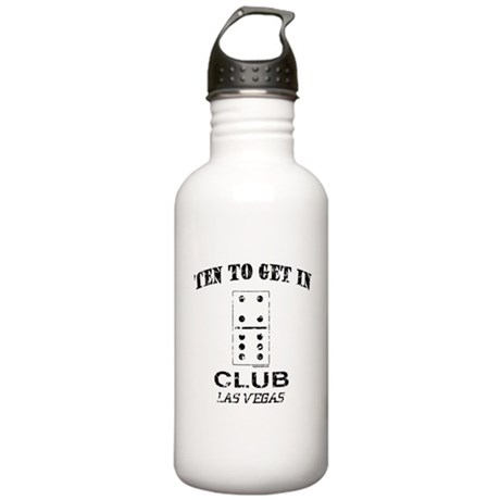 Club 10 Stainless Water Bottle 1L
