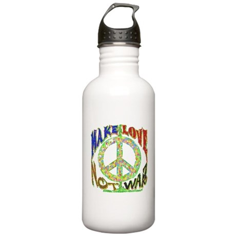 Love not War Stainless Water Bottle 1L