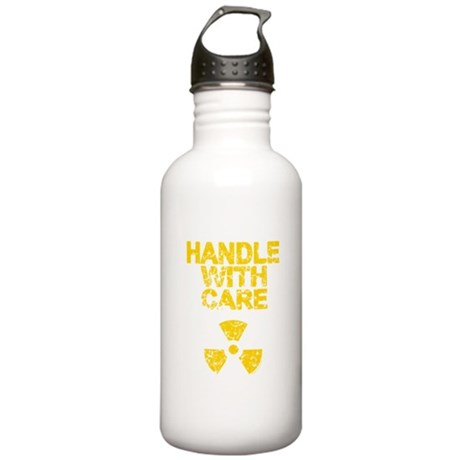 Handle With Care Stainless Water Bottle 1L