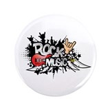 Rock music 3.5&quot; Button