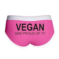 The Proud Vegan Women's Boy Brief