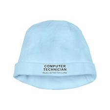 Computer Tech baby hat