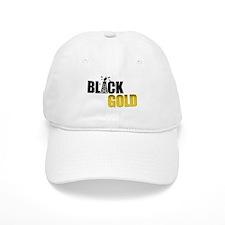 Black Gold Oil Baseball Cap