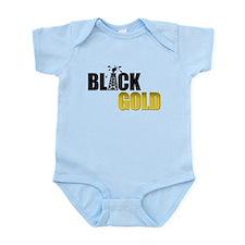 Black Gold Oil Infant Bodysuit