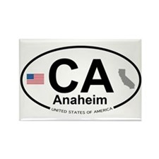 Anaheim Rectangle Magnet (100 pack)