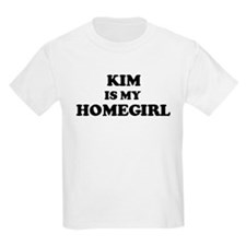Kim Is My Homegirl Kids T-Shirt