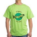 Tiger musky Green T-Shirt