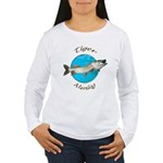 Tiger musky Women's Long Sleeve T-Shirt