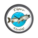 Tiger musky Wall Clock