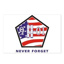 NEVER Forget - Postcards (Package of 8)