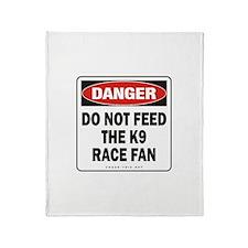 K9 Race Fan Throw Blanket