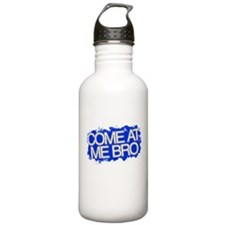Cute Come at me bro Water Bottle