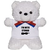 I'm With Stunad Teddy Bear