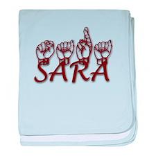 SARA baby blanket