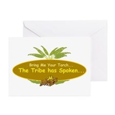 The tribe has spoken. Greeting Cards (Pk of 20)